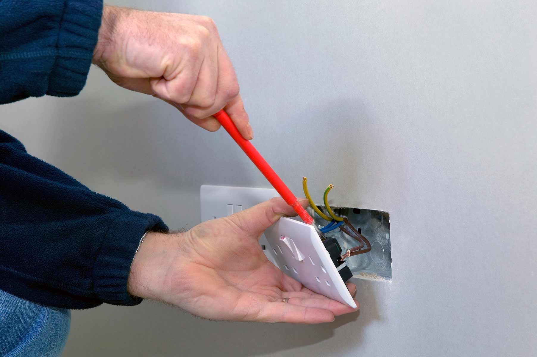 Our electricians can install plug sockets for domestic and commercial proeprties in Soho and the local area.